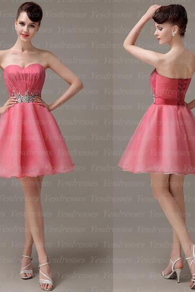 short homecoming dress, sweet heart prom dress, lovely prom dress, junior homecoming dress, cheap homecoming dress, party dress, homecoming dress,PD15246