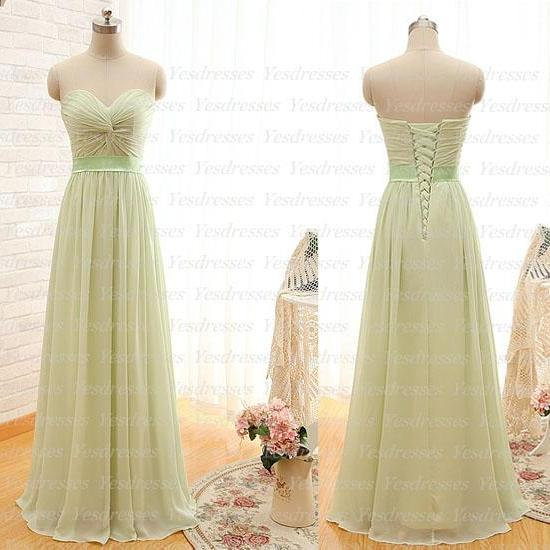 long prom dress, chiffon bridesmaid dress, popular prom dress,sweet heart prom dress,dresses for prom,cheap prom dress,simple prom dress, PD1159
